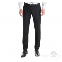 Woollen Trousers Black