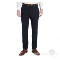 Woollen Trousers Navy
